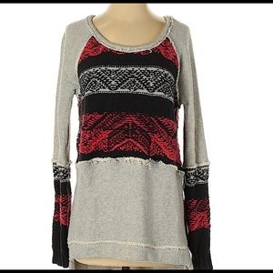 Free People Small Pullover Sweater - Retails $128